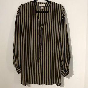 Vintage Dana Buchman silk blouse